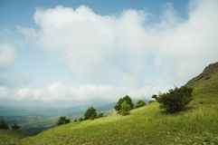 Summer in Crimean mountain Royalty Free Stock Photo