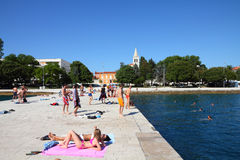 Summer in Croatia Stock Photography