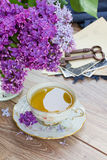 Summer cup of tea Royalty Free Stock Photos