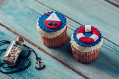 Summer Cupcakes Stock Photo