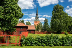 Summer in Dalecarlia, Sweden Royalty Free Stock Photography