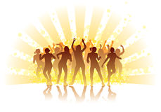 Summer dance Stock Image