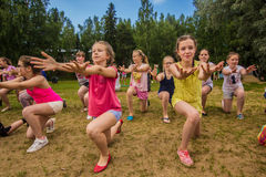 Summer dance Royalty Free Stock Image