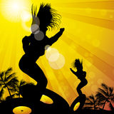 Summer dancers Royalty Free Stock Image