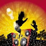 Summer dancers 3 Stock Image