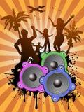 Summer dancing Royalty Free Stock Photo