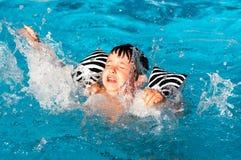 Summer danger stock photo