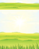 Summer day. Banner and background Stock Photography
