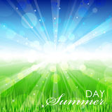 Summer day Royalty Free Stock Images