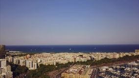 Summer day barcelona Royalty Free Stock Photography