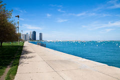 Summer day in Chicago Royalty Free Stock Image