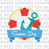 Summer day Stock Image