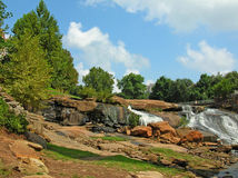 Summer day at Falls Park Royalty Free Stock Photos