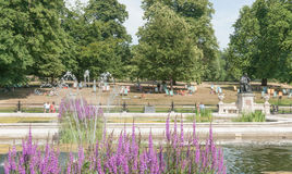 Summer day in Kensington Park London UK Stock Photography