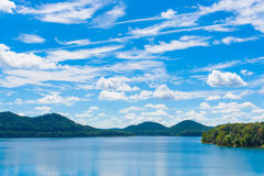 Summer day on lake. Royalty Free Stock Photos