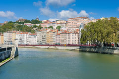 Summer day in Lyon Stock Photo