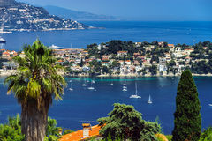 Summer day in Nice, France, Cote d'Azur. Royalty Free Stock Photography