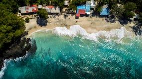 Summer Day over Ocean Beautiful Beach stock photography
