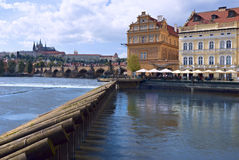 Summer day in Prague Royalty Free Stock Photo