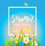 It is summer day Stock Photography