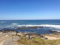 The summer days in portugal royalty free stock photography