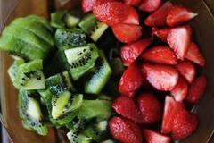 Fruity pleasure. Summer days require fresh food Royalty Free Stock Photography