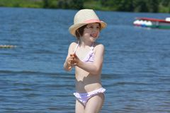 Free Summer Delight By The River Royalty Free Stock Photos - 102631808