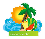 Summer Design Stock Photos