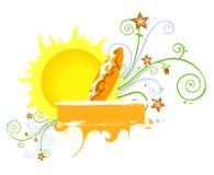 Summer Design Stock Image