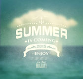 Summer Design Royalty Free Stock Photos