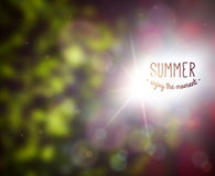 Summer Design. Royalty Free Stock Photography