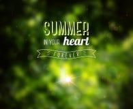 Summer Design. Stock Photo
