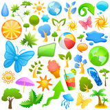Summer design element Stock Photo