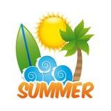 Summer design Royalty Free Stock Photo