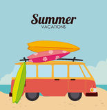 Summer design Royalty Free Stock Image
