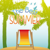 Summer design Royalty Free Stock Photography
