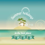 Summer design Stock Images
