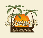 Summer design Stock Images