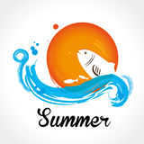 Summer design Stock Photo