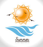 Summer design Royalty Free Stock Image