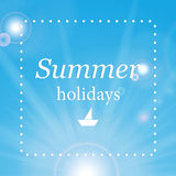 Summer design Stock Photography