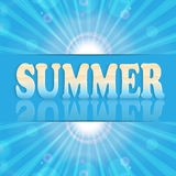 Summer design Royalty Free Stock Photo