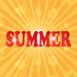 Summer design Stock Image