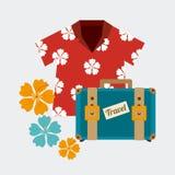 Summer design, vector illustration. Stock Image