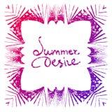 Summer desire Stock Photos