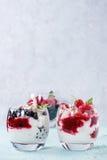 Summer dessert Eton Mess Royalty Free Stock Photo