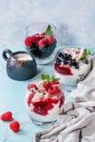 Summer dessert Eton Mess Royalty Free Stock Image