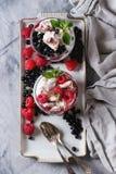 Summer dessert Eton Mess Royalty Free Stock Images
