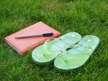 Summer diary Stock Photos