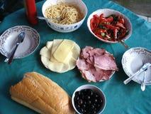 Summer Dinner Stock Image